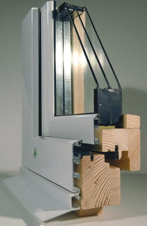 menuiserie mixte bois aluminium