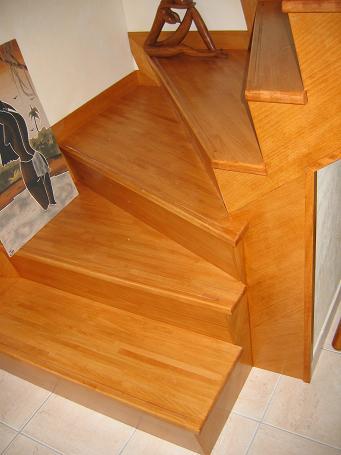 reparer escalier bois