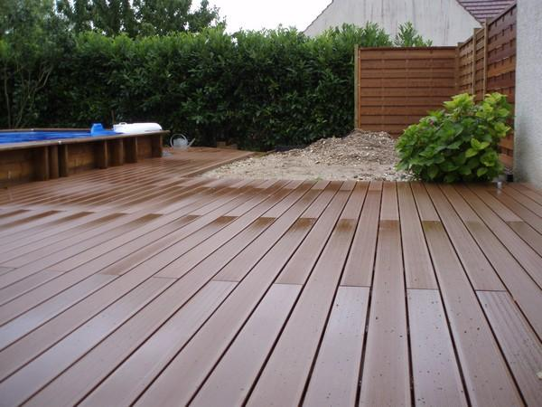 Construire Une Terrasse En Bois Sur Terre Pictures to pin on Pinterest