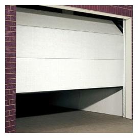 Porte de garage blanche Wayne Dalton modele Futura
