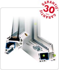 fenêtres PVC Tryba T75